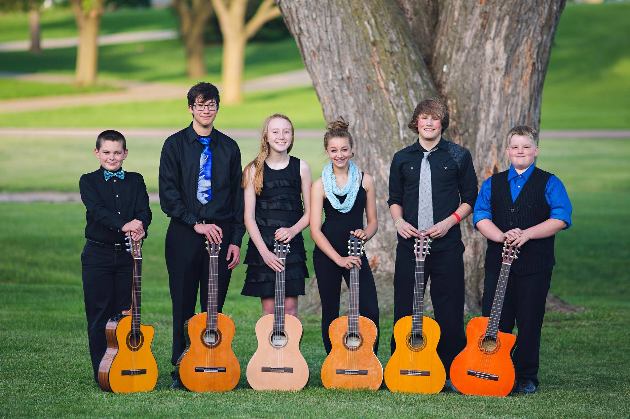 Sioux Falls Guitar Students
